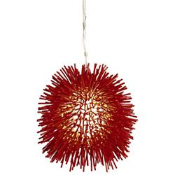 Urchin Mini Pendant (Super Red) - OPEN BOX RETURN