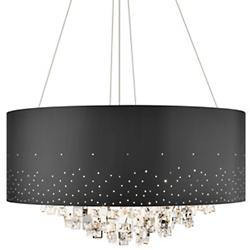 Vallo Chandelier (Black/Large) - OPEN BOX RETURN