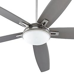Vector 72 Inch Ceiling Fan (Satin Nickel) - OPEN BOX RETURN