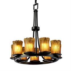 Veneto Luce Dakota 9 Light Ring Chandelier