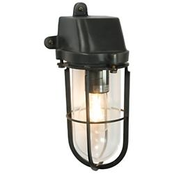 Weatherproof Ship's Well Hooded Wall Light