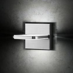 Wega Square LED Wall Sconce (Brushed Aluminum) - OPEN BOX