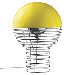Wire Yellow Table Lamp