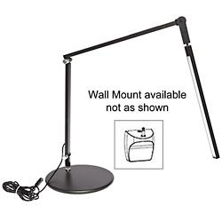 Z-Bar Mini Gen 3 Desk Lamp (Black/Wall/Cool) - OPEN BOX