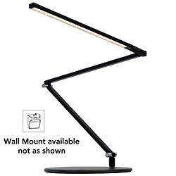 Z-Bar Slim Gen 3 Desk Lamp (Black/Wall/Cool) - OPEN BOX