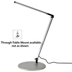 Z-Bar Solo Gen 3 Lamp (Silver/Through-Table/Cool) - OPEN BOX