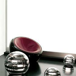 Zebra Globe Lamp