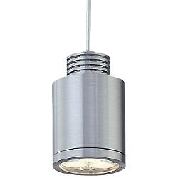 Zen LED Pendant (Clear/Brushed Aluminum) - OPEN BOX RETURN