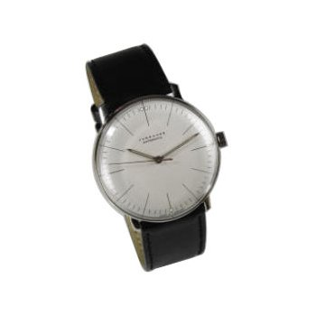 Max Bill Manual Wrist Watch with Lines