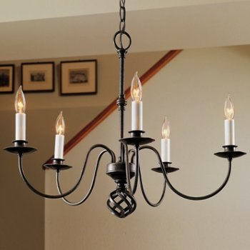 Ball Basket Five Arms Chandelier