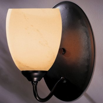 Simple Lines Large Dome Wall Sconce