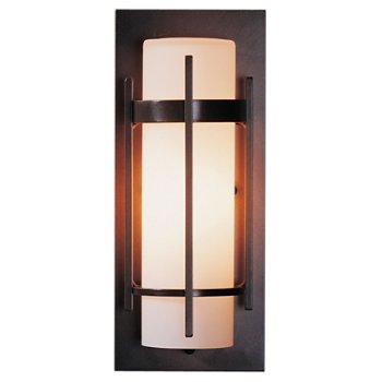 Banded Aluminum Outdoor Sconce