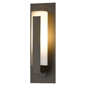 Forged Vertical Bars Outdoor Wall Sconce-Wet