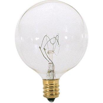 15W 120V G16 1/2 E12 Clear Bulb