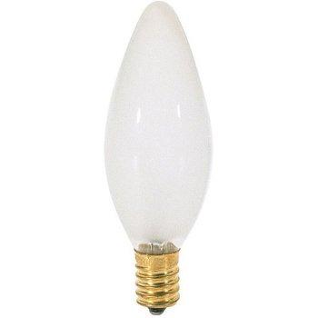 40W 120V BA9.5 E14 Blunt Tip Frosted Bulb