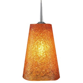 Bling II LED Down Pendant with 4 in.