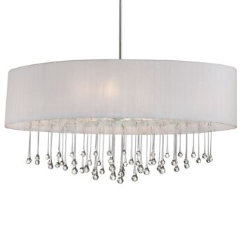 Penchant 6 Light Oval Pendant