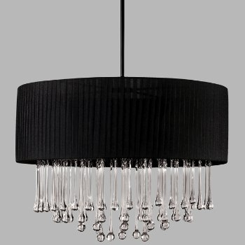 Penchant 6 Light Round Pendant