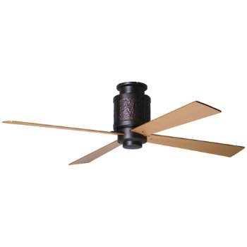 Bodega Hugger Ceiling Fan with Optional Light