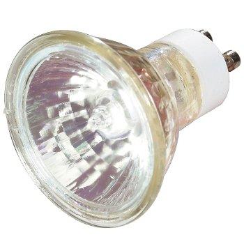 50W 120V MR16 GU10 Halogen Clear FLD Bulb