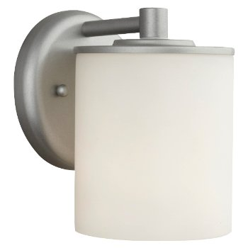 Midnight Outdoor Wall Sconce Round