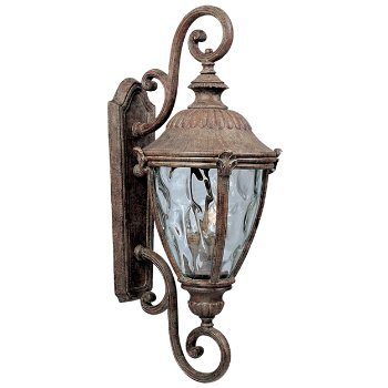 Morrow Bay Outdoor Wall Sconce with Double Scroll