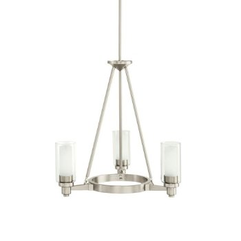 Circolo 3-Light Round Chandelier