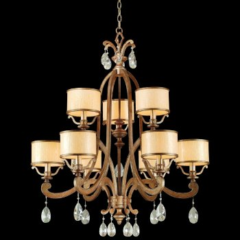Roma 9 Light Chandelier