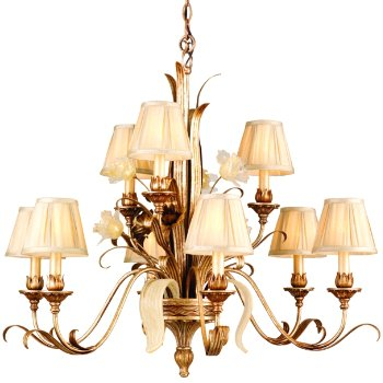 Tivoli 2-Tier 9 Light Chandelier