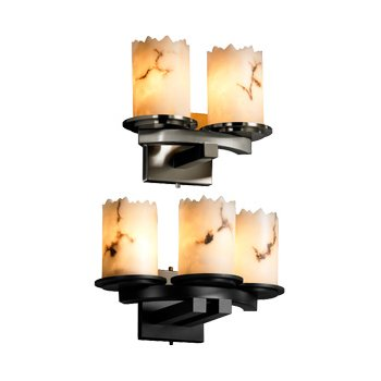 LumenAria Dakota Curved Wall Sconce