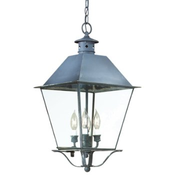 Montgomery Outdoor Pendant with Metal Top