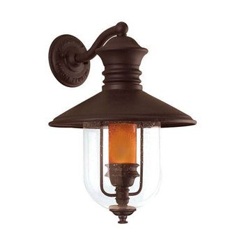 Old Town Outdoor Wall Sconce Incandescent Dark Sky
