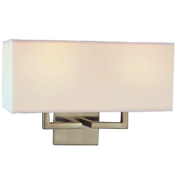Fabric Wide Wall Sconce