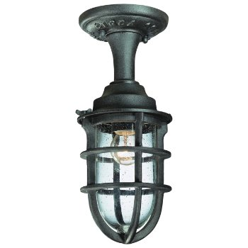 Wilmington Outdoor Semi-Flushmount Lantern