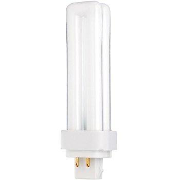18W 120V T4 G24q-2 Quad Tube CFL 2700K Bulb