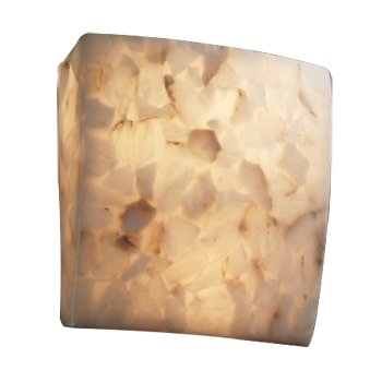Alabaster Rocks! Square Wall Sconce