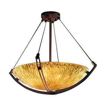 Veneto Luce Bowl Suspension with Crossbar