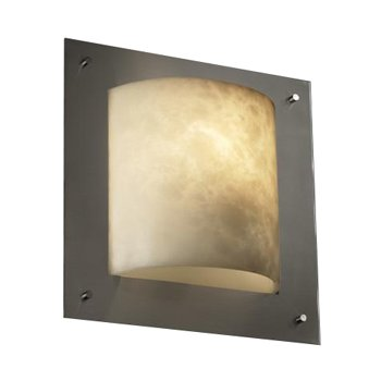 Clouds Framed Square Wall Sconce