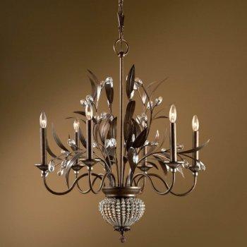 Cristal de Lisbon 6 Light Chandelier