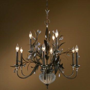 Cristal de Lisbon 9 Light Chandelier