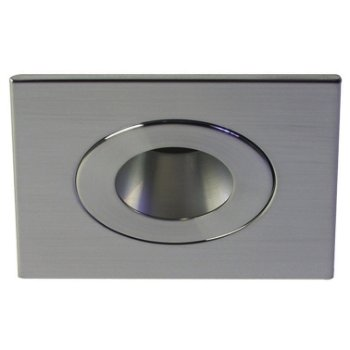 T3165 Recessed Pinhole Square Trim with Round Opening