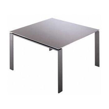 Four Square Table Aluminum