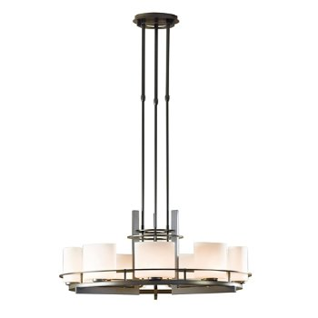 Arc Ellipse 9 Light Circular Chandelier