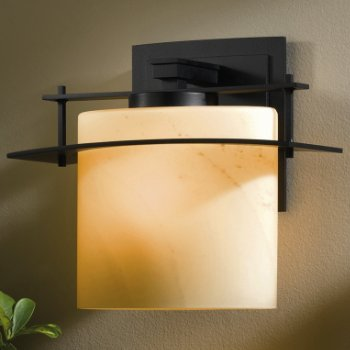Ellipse Outdoor Wall Sconce with Glass Options