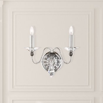 Jasmine 2-Light Wall Sconce