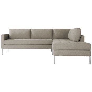 Paramount 2 Piece Right Arm Sectional Sofa