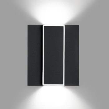 Alpha Rectangle Wall Sconce