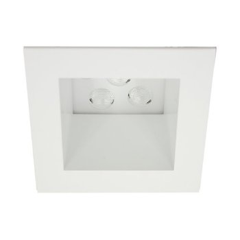 "LEDme 4"" Spackle Square Trim"