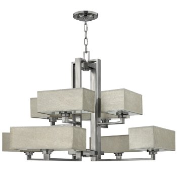 Quattro 2-Tier Chandelier
