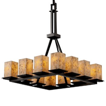 Alabaster Rocks! Montana 12-Light Chandelier